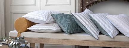A demain - le linge français - Sensible et engagé pour demain, le linge de lit véritablement français : fabriqué et inspiré.