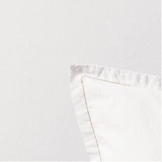 A demain - le linge français - Parure de lit fabriquée en france albatre - Taie d'oreille 65*65 - Housse de couette 260*240 - Parure de lit