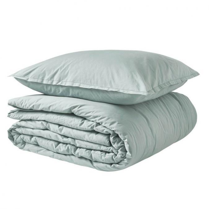 A demain - le linge français - Parure de lit fabriquée en france cévennes - Taie d'oreille 50*75 - Housse de couette 260*240 - Parure de lit