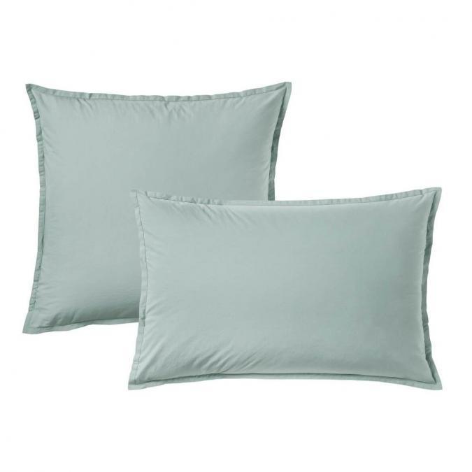 A demain - le linge français - Parure de lit fabriquée en france cévennes - Taie d'oreille 50*75 - Housse de couette 240*200 - Parure de lit