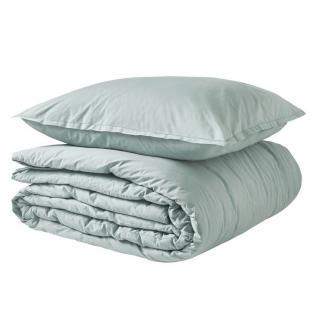 A demain - le linge français - Parure de lit fabriquée en france cévennes - Taie d'oreille 65*65 - Housse de couette 260*240 - Parure de lit