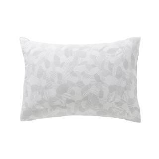 A demain - le linge français - Taie d'oreiller motif parcelles - lot de 2 - Taie d'oreiller