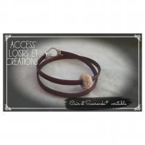 Access' Loisirs et Créations - Bracelet cuir - Bracelet - Cuir
