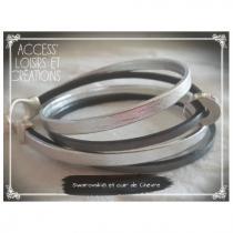 Access' Loisirs et Créations - Manchette double-rang - Manchette