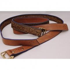AFRICANBOYZCLUB - Ceinture en cuir pour homme, ceinture en cuir pour femme, ceinture hermes, cadeau de noel pour lui, ceinture personnalisable - Ceinture - Marron