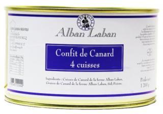 Alban Laban - Confit de canard 4 cuisses - Confit de canard