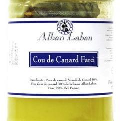 Alban Laban - Cou de canard farci - Cou de canard