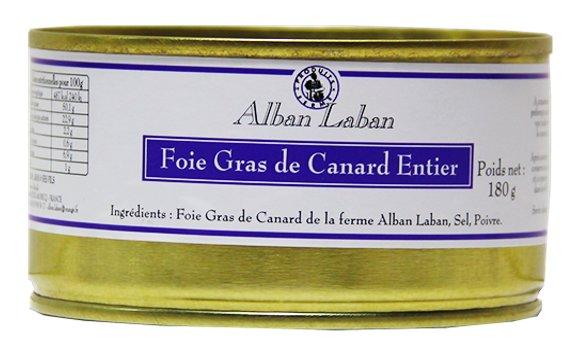 Alban Laban - Foie Gras entier de canard - Foie gras - 0.180
