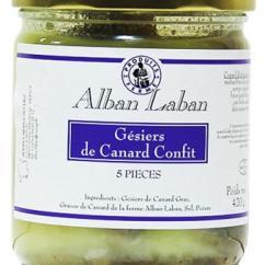 Alban Laban - Gesiers confits - Gésier de canard