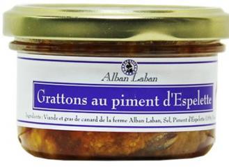 Alban Laban - Grattons au piment d'Espelette - Gratton