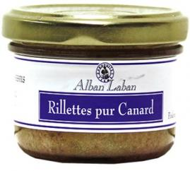 Alban Laban - Rillettes pur canard - Rillettes de canard -