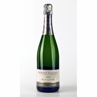 Alsace Dirler-Cadé/Vins de terroirs en biodynamie - Crémant d'Alsace 2016 Brut Nature - 2016 - Bouteille - 0.75L