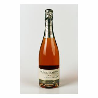 Alsace Dirler-Cadé/Vins de terroirs en biodynamie - Crémant d'Alsace 2017 Rosé Brut Nature - 2017 - Bouteille - 0.75L