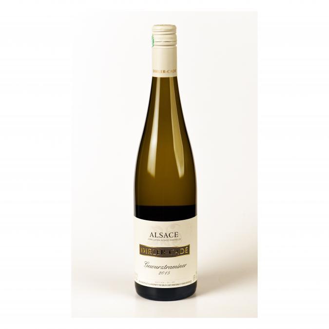 Alsace Dirler-Cadé/Vins de terroirs en biodynamie - Gewurztraminer 2015 Capsule à vis - 2015 - Bouteille - 0.75L