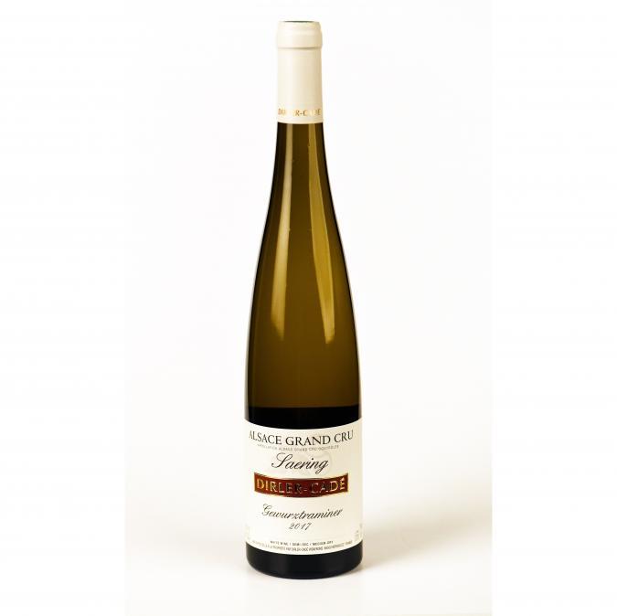 Alsace Dirler-Cadé/Vins de terroirs en biodynamie - Gewurztraminer 2017 Grand Cru Saering - 2017 - Bouteille - 0.75L