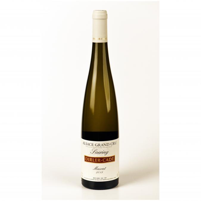 Alsace Dirler-Cadé/Vins de terroirs en biodynamie - Muscat 2017 Grand Cru Saering - 2017 - Bouteille - 0.75L
