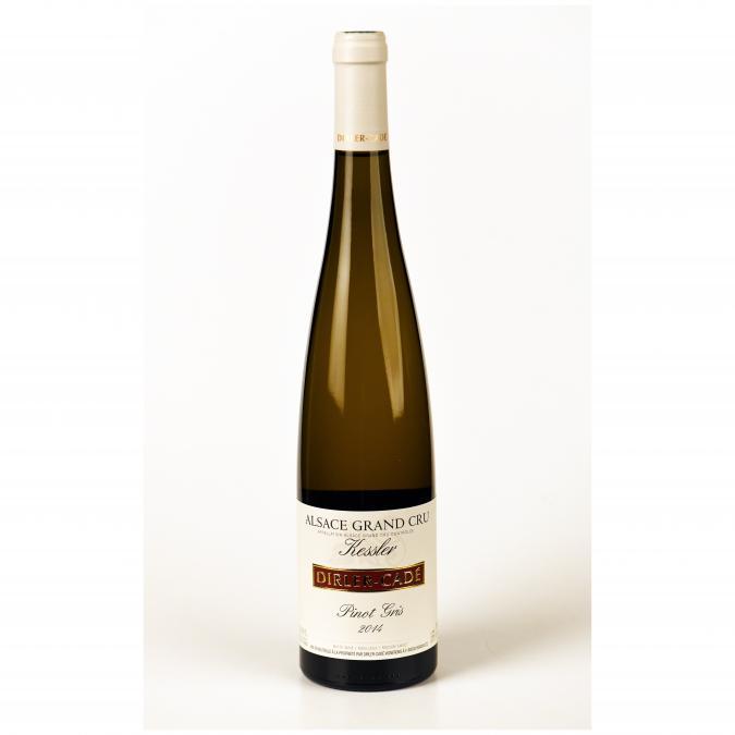 Dirler-Cadé / Vins de terroirs en biodynamie - Pinot Gris 2014 Grand Cru Kessler - 2014 - Bouteille - 0.75L