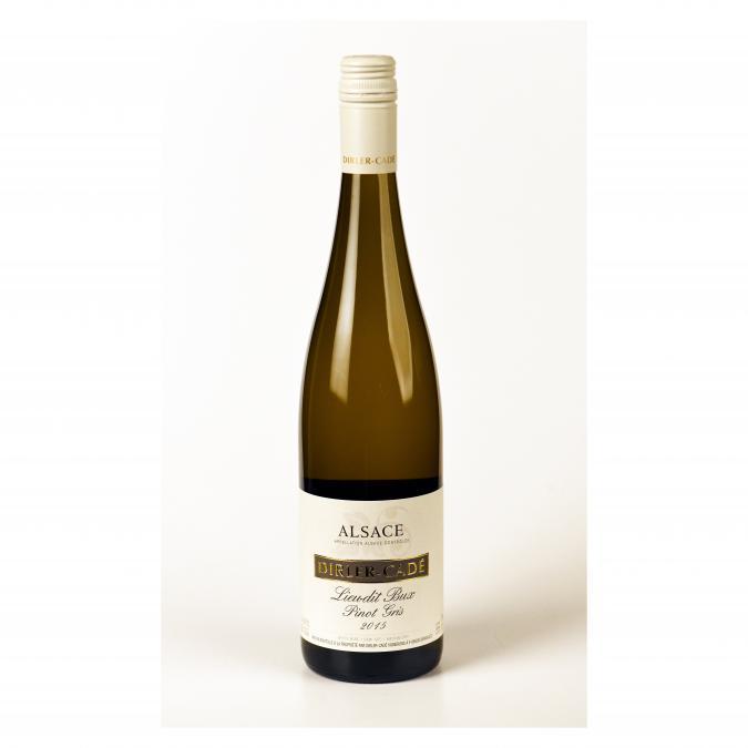 Alsace Dirler-Cadé/Vins de terroirs en biodynamie - Pinot Gris 2015 Lieu-dit Bux Capsule à vis - 2015 - Bouteille - 0.75L