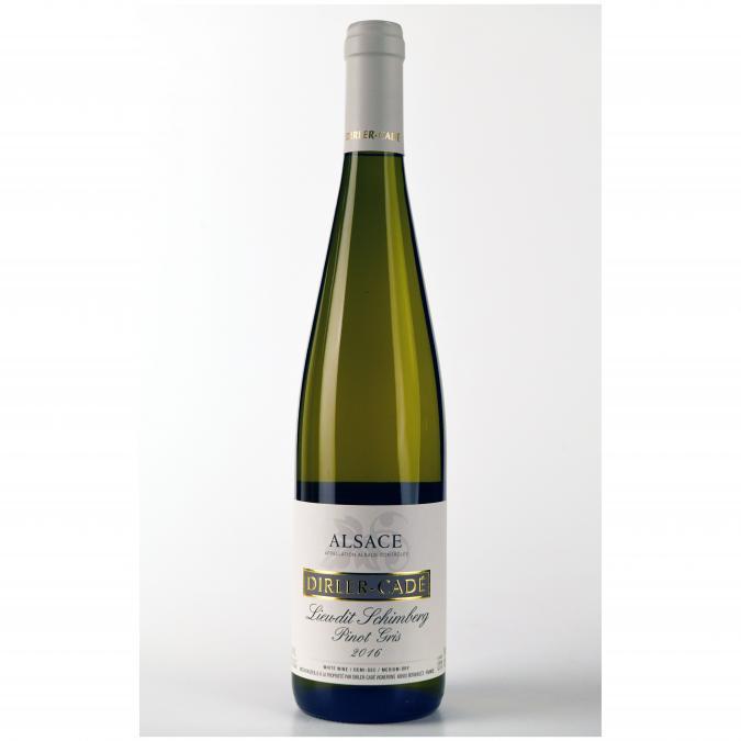 Alsace Dirler-Cadé/Vins de terroirs en biodynamie - Pinot Gris 2016 Lieu-dit Schimberg - 2016 - Bouteille - 0.75L