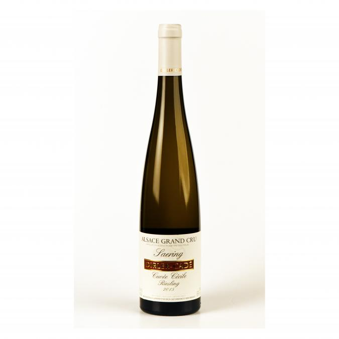Alsace Dirler-Cadé/Vins de terroirs en biodynamie - Riesling 2015 Grand Cru Saering Cuvée Cécile - 2015 - Bouteille - 0.75L