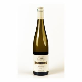 Alsace Dirler-Cadé/Vins de terroirs en biodynamie - Riesling 2017 Capsule à vis - 2017 - Bouteille - 0.75L