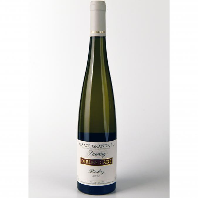 Alsace Dirler-Cadé/Vins de terroirs en biodynamie - Riesling 2017 Grand Cru Saering - 2017 - Bouteille - 0.75L