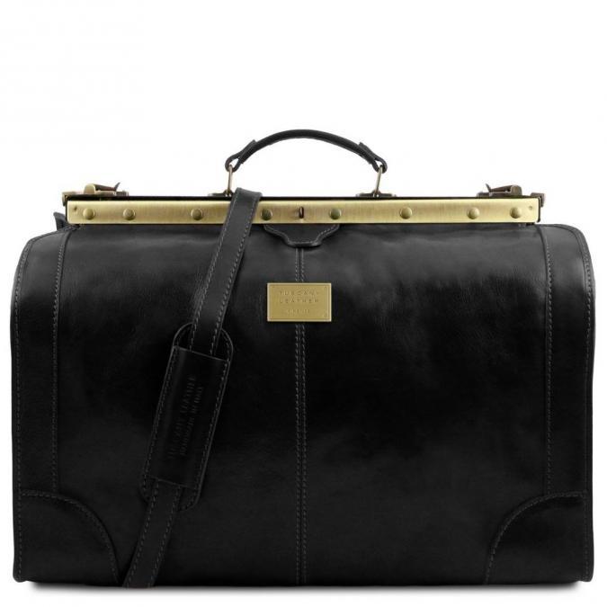 Ambi Hose Bags - MADRID Sac de voyage en cuir - Grand modèle - Sac de voyage