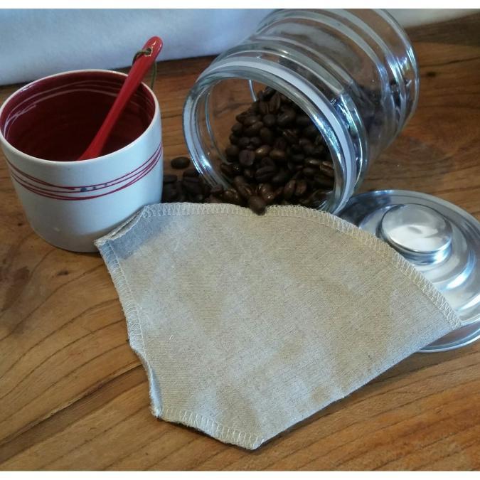 L'Amusette - Filtre à café lavable - zero dechet
