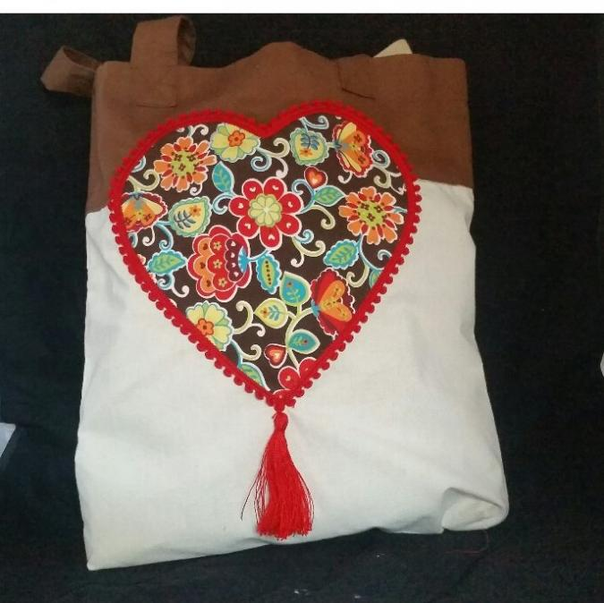 L'Amusette - Tote bag - fait main