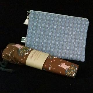 L'Amusette - Une trousse et Un sac multi-usages - zero dechet