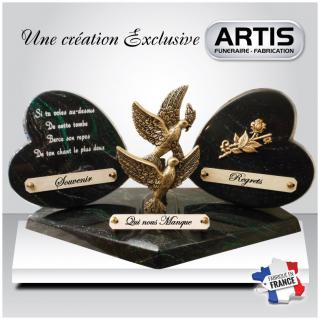 ARTIS FUNERAIRE - Plaque Funéraire - Plaque Funéraire