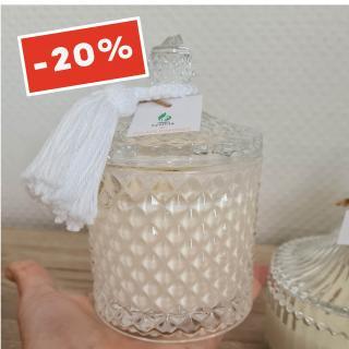 Atelier Kynttilä - Bougie Nour - Fleur d'Oranger - 235g - ___Bougie parfumée