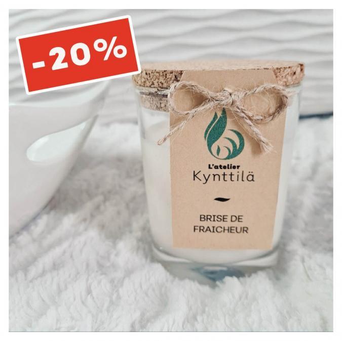 Atelier Kynttilä - La Classique - Brise de Fraicheur - 130g - ___Bougie parfumée