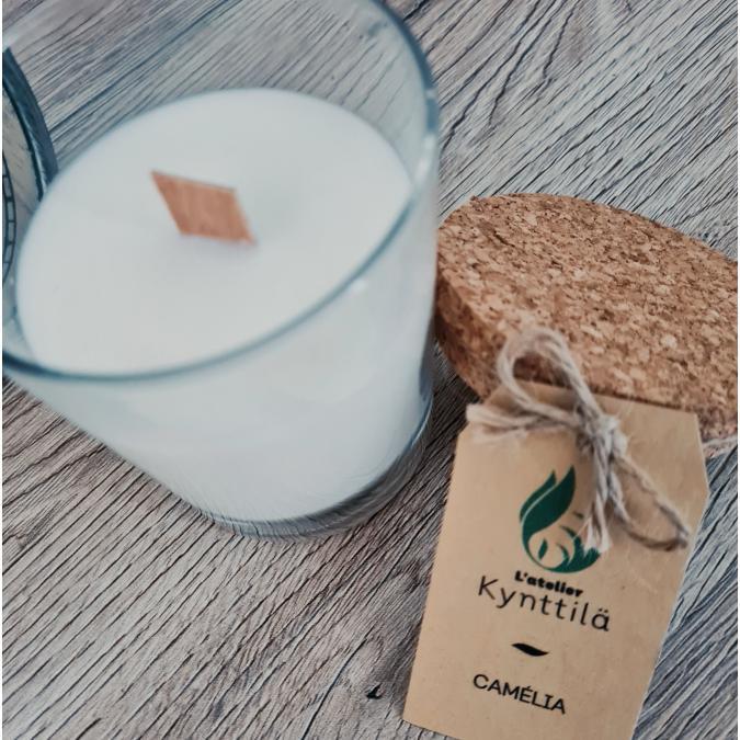 Atelier Kynttilä - La Classique - Camélia - 130g - ___Bougie parfumée