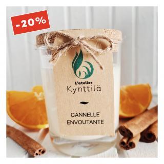 Atelier Kynttilä - La Classique - Cannelle Envoûtante - 130g - ___Bougie parfumée