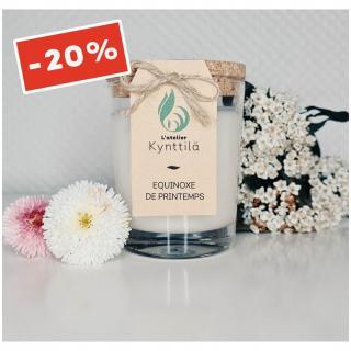 Atelier Kynttilä - La Classique - Equinoxe de Printemps - 130g - ___Bougie parfumée