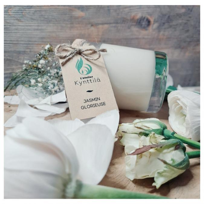 Atelier Kynttilä - La Classique - Jasmin Glorieuse - 130g - ___Bougie parfumée