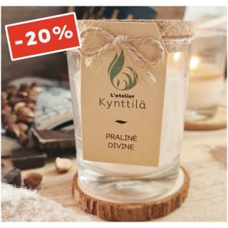 Atelier Kynttilä - La Classique - Praliné Divine - 130g - ___Bougie parfumée