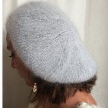 Atelier Mohair - Béret pur mohair de chevreaux - Bonnet