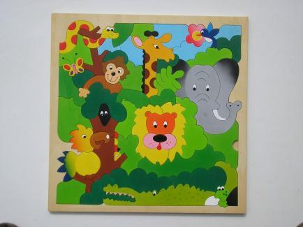 Atelier Terre Rouge - Puzzles en bois ou à peindre -  puzzles magnétiques et tableaux avec prénoms - FRAIS DE PORT OFFERT