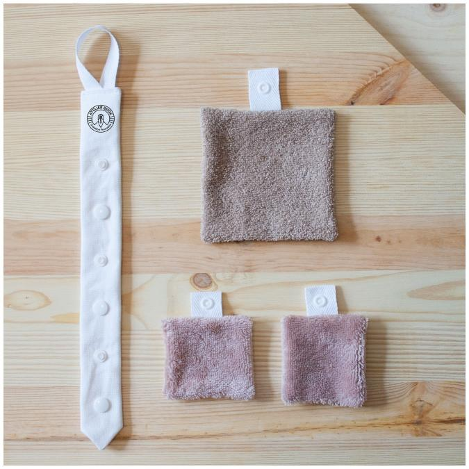 Atelier Beige - Kit Découverte Série Limitée - Lingette lavable