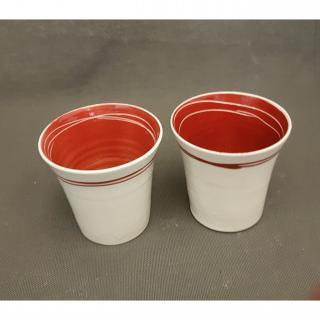 Atelier Céramique Laurence Thomas - Tasse à expresso en porcelaine - Tasse - Porcelaine