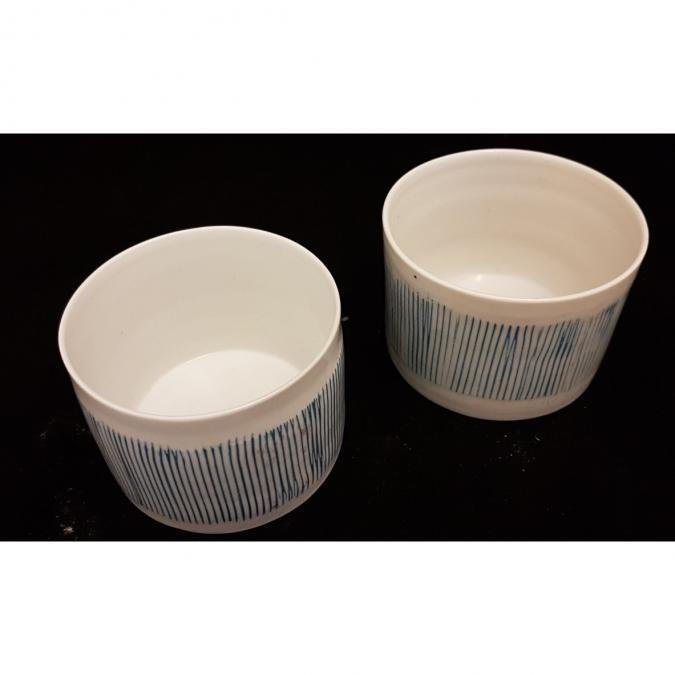 """Atelier Céramique Laurence Thomas - Tasse """" à tout"""" en porcelaine - Tasse - Porcelaine"""