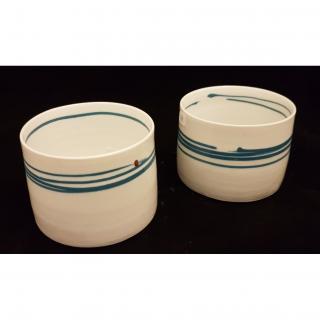 """Atelier Céramique Laurence Thomas - Tasses """" à tout"""" en porcelaine - Tasse - Porcelaine"""