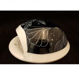 Atelier Céramique Laurence Thomas - Vase mural en porcelaine (copie) - Vase