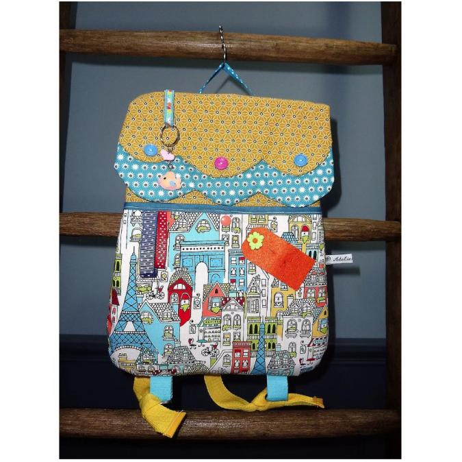 Ateliermarilo - Cartable maisonnette 19 - Sac (enfant) - Multicolore