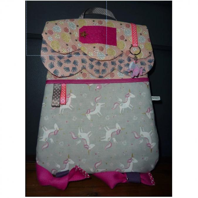 Ateliermarilo - Cartable maisonnette 50 - Sac (enfant) - Multicolore
