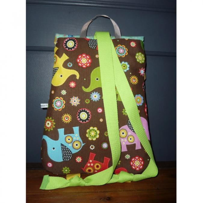 Ateliermarilo - Cartable maisonnette 51 - Sac (enfant) - Multicolore