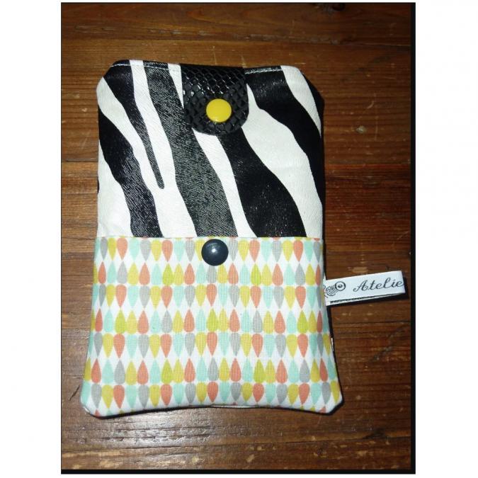 Ateliermarilo - Etui portable ou lunette 30 - Etui de téléphone - Noir