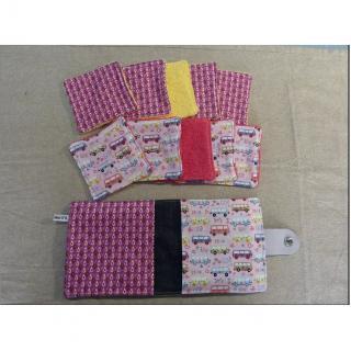Ateliermarilo - Lingettes et sa housse 32 - Lingette lavable